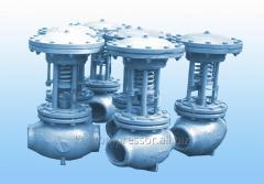 The valve regulating the RK type – 1