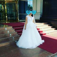 Свадебное платье для счастья!