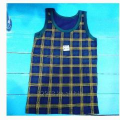Boy's undershirt a blue cage for 8-9 years