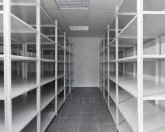 Archival metal racks