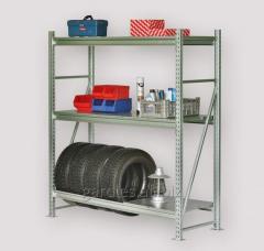 Rack for a utility room of Steller