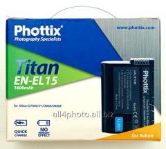 Phottix EN-EL 15 accumulator