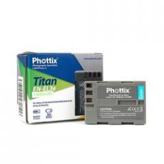 Phottix Titan EN-EL 3e accumulator