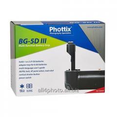 Battery Phottix BG-5D Mark III block