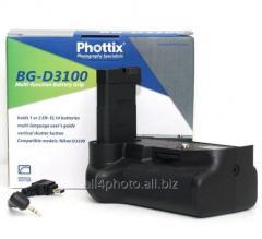 Battery Phottix BG-D3100/D3200 block