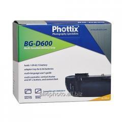 Battery Phottix BG-D600/D610 block