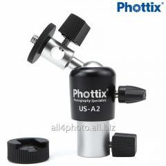 Holder of Phottix US-A2 of an umbrella
