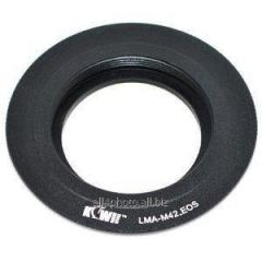 Ring transitional M42 for Canon EOS