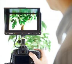 The monitor for video filming of Phottix Hector 7