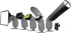 Set of Phottix Flexy Flash lenses
