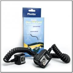 Sinkhro-kabel Phottix Duo TTL for flashes of