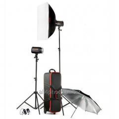 Studio in the Godox H-160(Duo) se