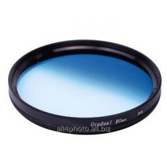 Фильтр градиентный синий Massa