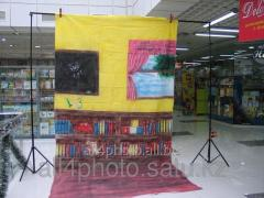 Background of art 2*4 m.
