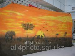 Background of art 6*3 m No. 10