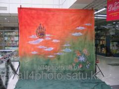 Background of art 6*3 m No. 2