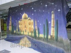 Background of art 6*3 m No. 4