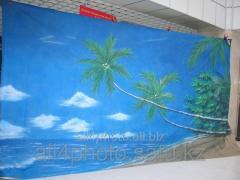 Background of art 6*3 m No. 6