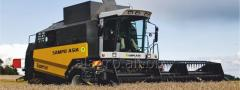 Combine harvester of SAMPO SR3085 with BISO