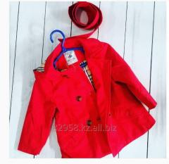 Berberi's coat for the girl from 2 to 6 years