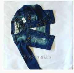 Jean jacket children's with attritions to 6