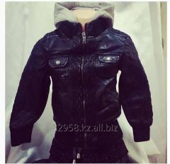 Leather jacket unisex from 3 to 11 years