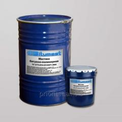 Mastic bituminous and polymeric MBP-G/Shm75