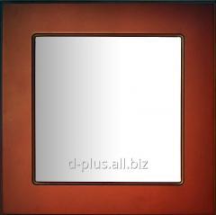 The facade frame glazed MDF