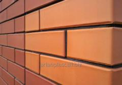 The brick is ceramic facing
