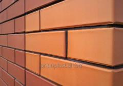 The brick is ceramic facing