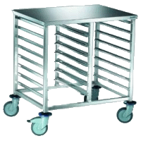 The TG-1 cart for gastroyemkost of GN1/1, GN1/2