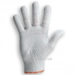 Перчатки без покрытия ПВХ серая