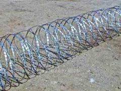 Spiral barrier of safety 600*50*3