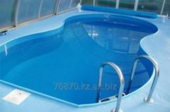 Pools from plastic