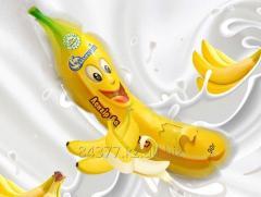 """Мороженое фруктовый лед  """"Банан"""""""