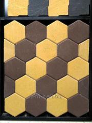 "Paving slabs ""Hexagon"