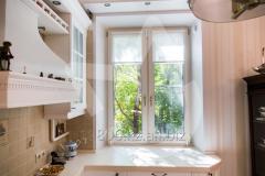 Metalplastic double casement window