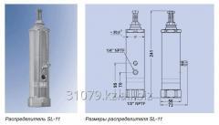 Подающий распределитель смазки тип SL-11