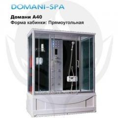 Shower cabin of Domani A40&nbsp