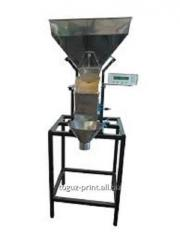 The batcher for loose products 10g-5kg