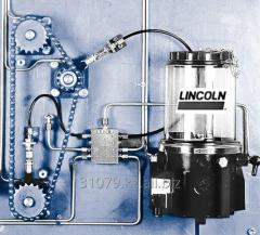 The progressive lubrication system for slowly