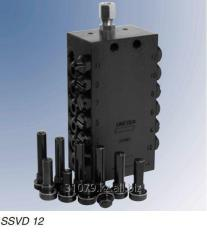 The SSV-D distributor with the dosing screws