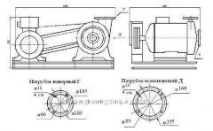 Агрегат электронасосный пищевой К-80-65-220-С