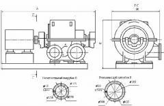 Турбокомпрессор воздушный одноступенчатый