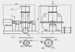 Турбокомпрессор газовый ТГ-300-1, 18-В1-Н