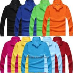 Polo t-shirt long sleeve.