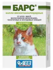 Инсектоакарицидные капли - Барс, Средства от