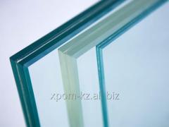 Glass triplex, triplex