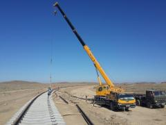 Truck cranes for ren