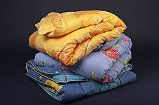 Одеяло с наполнителем из холлофайбера